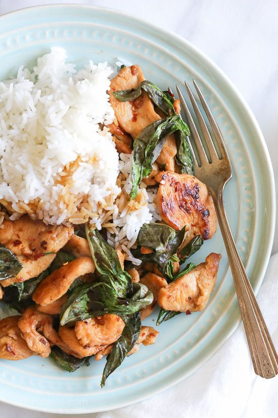 This simple Thai dish known as Pad Grapow is insanely quick and inexpensive to make. It's light, yet flavorful with lots of heat and tons of basil. I recently got my hands on Chrissy Teigen's new cook
