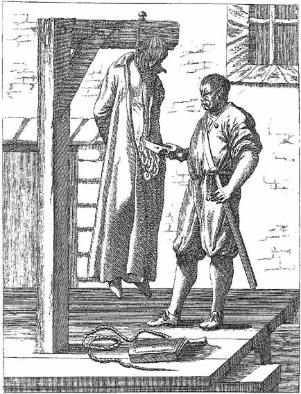 Hung, Drawn and Quartered. This barbaric form of execution, popular during the reign of Elizabeth I, where they are hanged till they are alm...