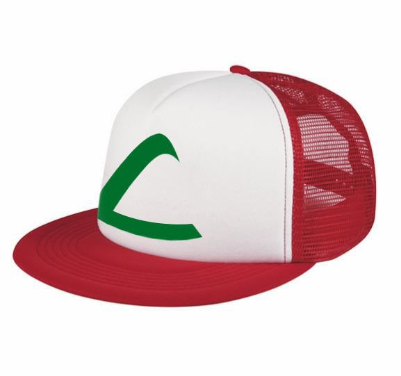 If you going to collect them all you better look the part! Our 1 size fits all hat has adjustable snaps in the back, and Pokemon League symbol on the front.