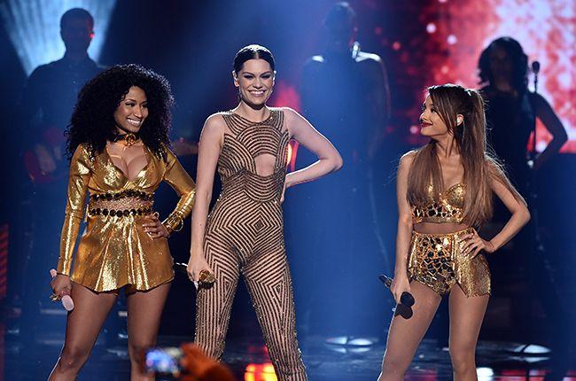 Billboard - Ariana Grande, Nicki Minaj & Jessie J Drop 'Bang Bang' at 2014 AMAs