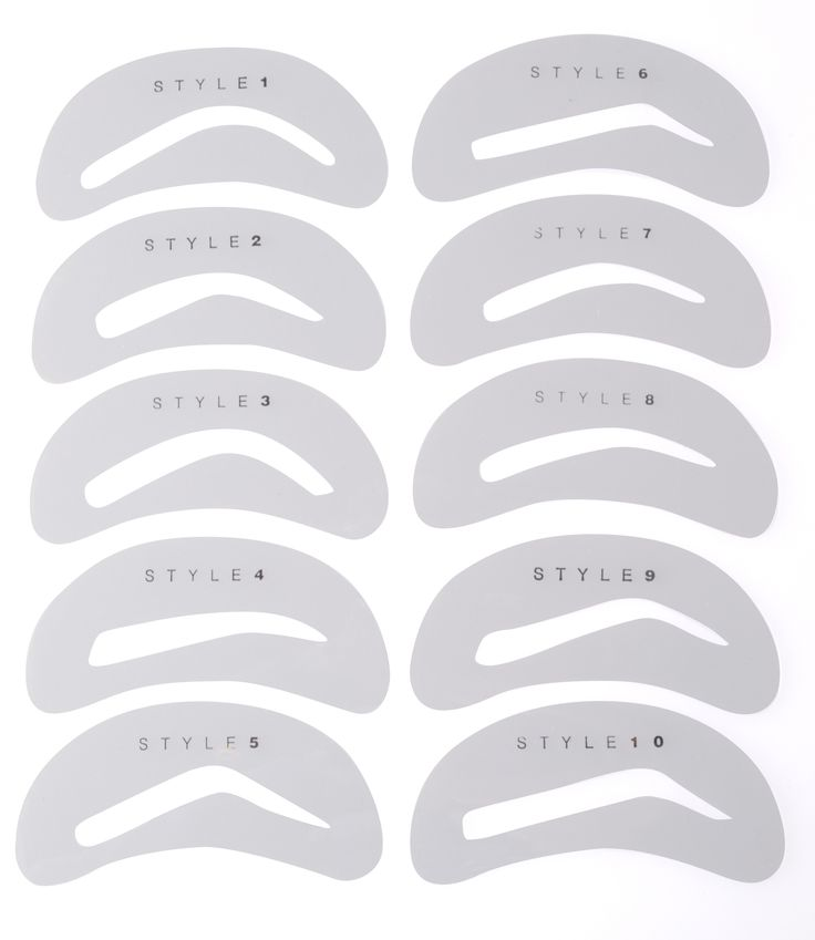 printable eyebrow stencil template - 25 best ideas about eyebrow stencil on pinterest brow