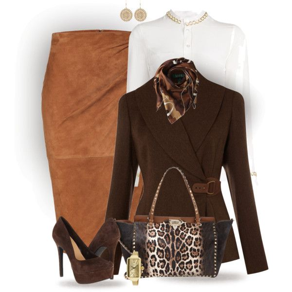 A fashion look from January 2015 featuring Moschino blouses, Lauren Ralph  Lauren jackets and Ralph