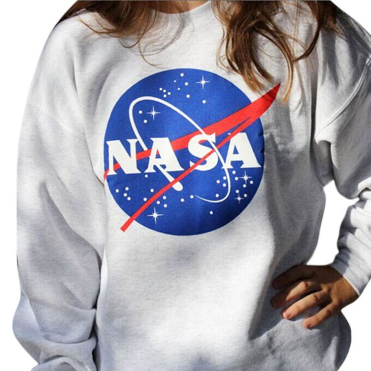 N.A.S.A. Design Sweatshirt