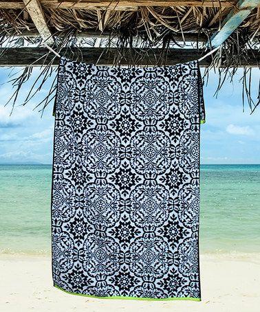 Another great find on #zulily! Vanderbilt Oversize Beach Towel #zulilyfinds