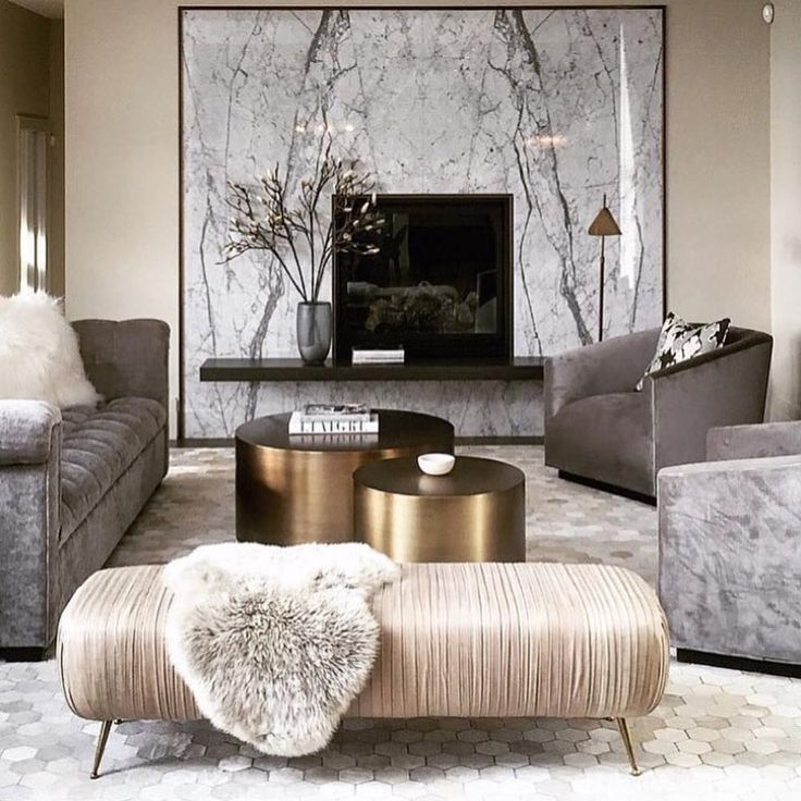 Family Room Fireplace Surround Is Marble, Love The 2 Coffee Tables Canadian  Interior Designer Nam Dang Mitchell Part 37