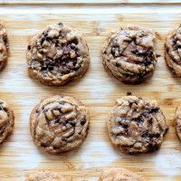 Peanut Butter Chocolate Chip Cookies with Sea Salt   Ambitious Kitchen