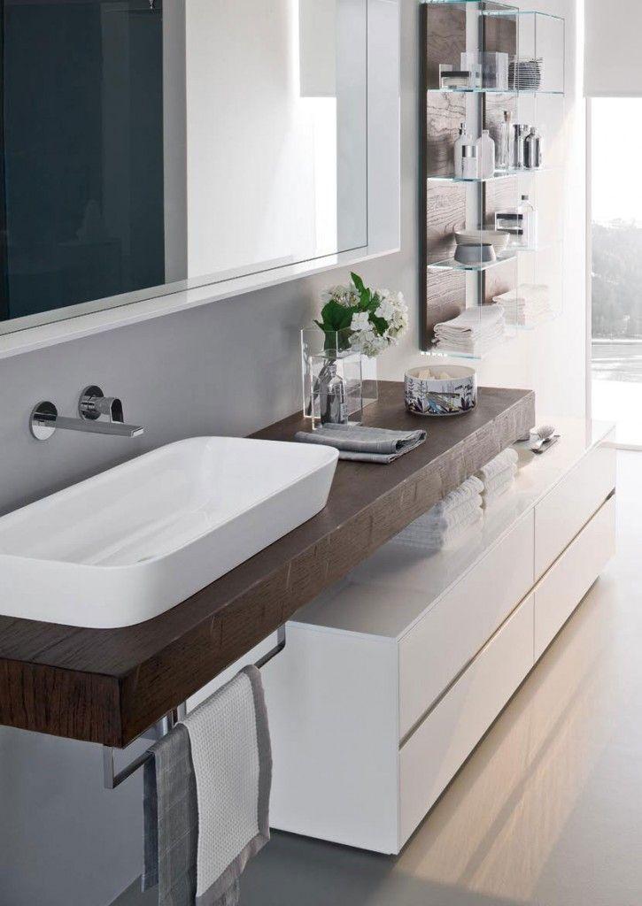 Nyù mobili bagno eleganti per bagni moderni Arredamento