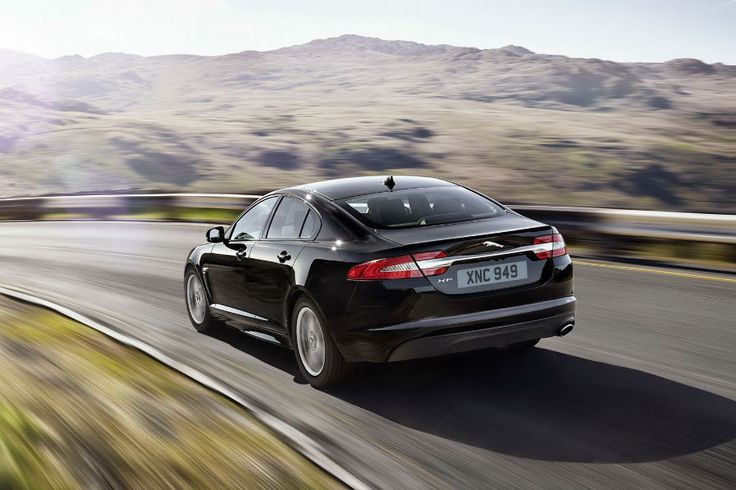 2015 Jaguar XF Back