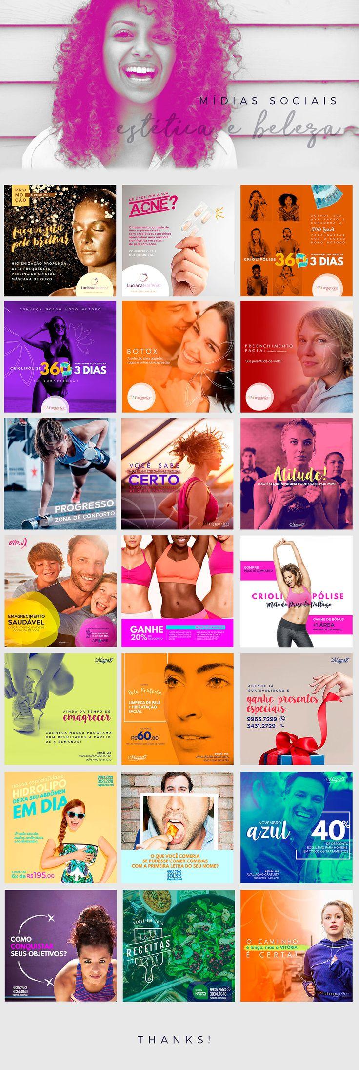 Social Media | Estética e Beleza on Behance