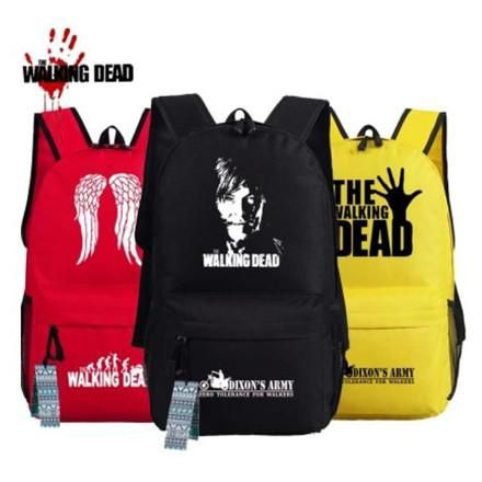 The Walking Dead School Bag Backpacks Dicounted for a limited time: https://titandesigntech.com.au/products/the-walking-dead-school-bags-backpacks #TitanDesignTech #FreeShipping