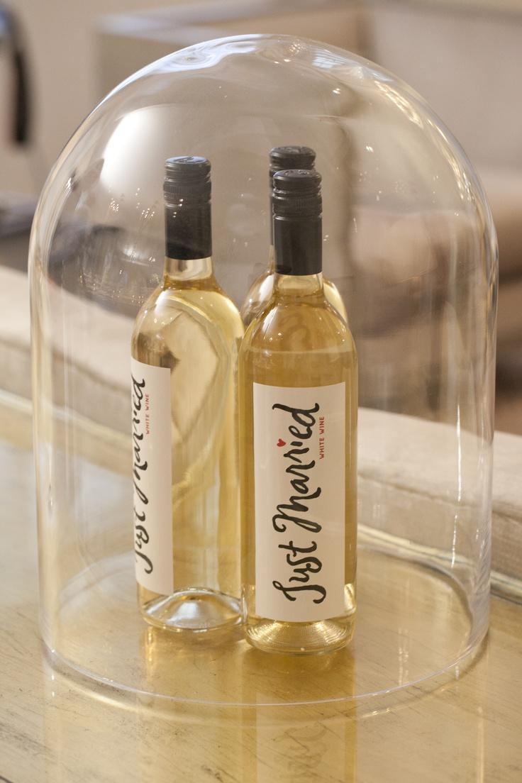 Wine under glass