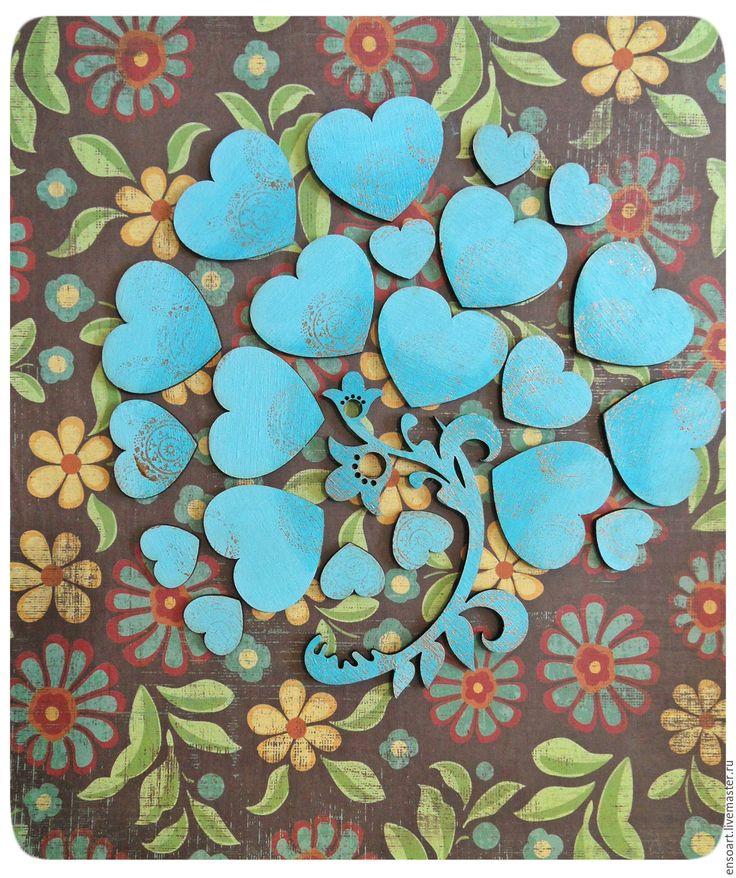 """Купить Свадебное панно """"Древо памяти"""" - комбинированный, свадьба, дерево, Дерево счастья"""