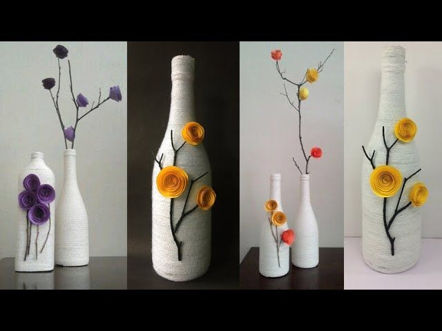 Best Out Of Waste Craft Ideas Diy Home Decor Ideas Bottle