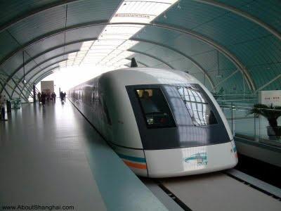 Shanghai 170+ mph Maglev Train