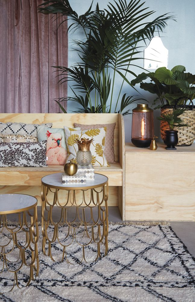 A.U Maison SS17. #aumaison #interior #homedecor #styling #danishdesign #livingroom #table #marble #cushions