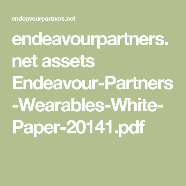 endeavourpartnersnet assets Endeavour-Partners-Wearables-White - white paper pdf