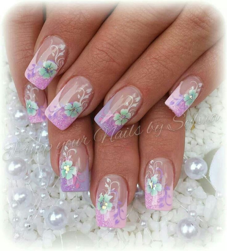 Nail Ideas For April: 1184 Best April Showers Bring May Flowers Nail Art Images