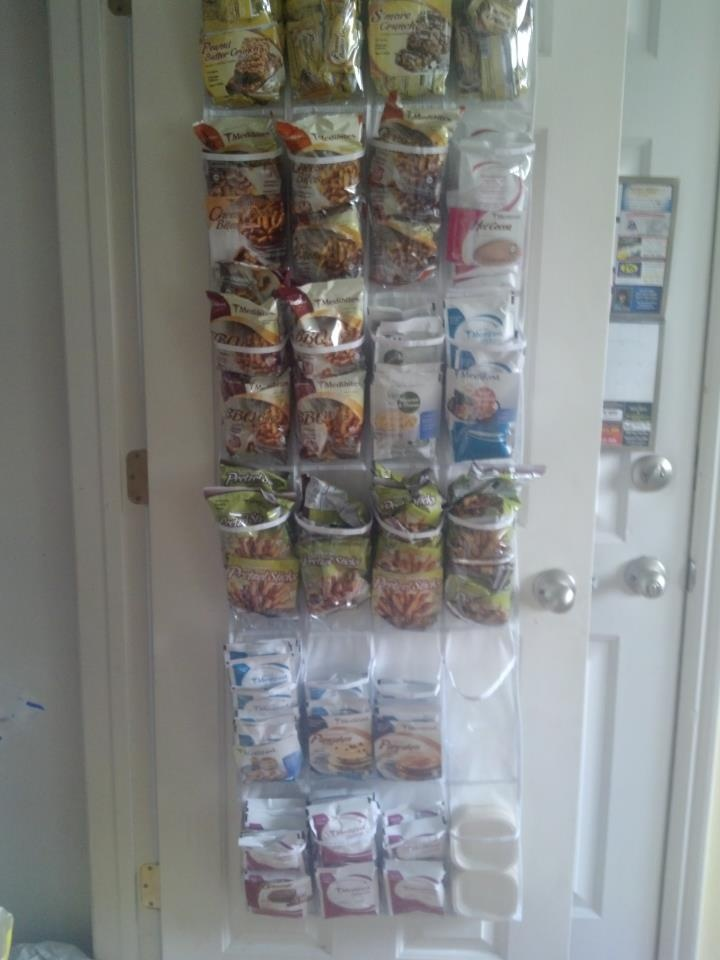 Best way to store my Medifast meals! What a great IDEA ...