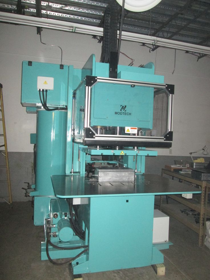 Installation of a New Modtech C-20 Wax Injection Press