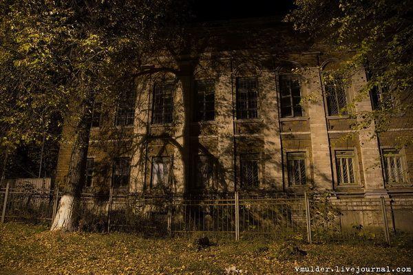 Заброшенная психиатрическая больница в г. Касимов