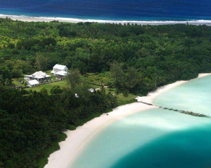 Former plantation on Diego Garcia, Indian Ocean