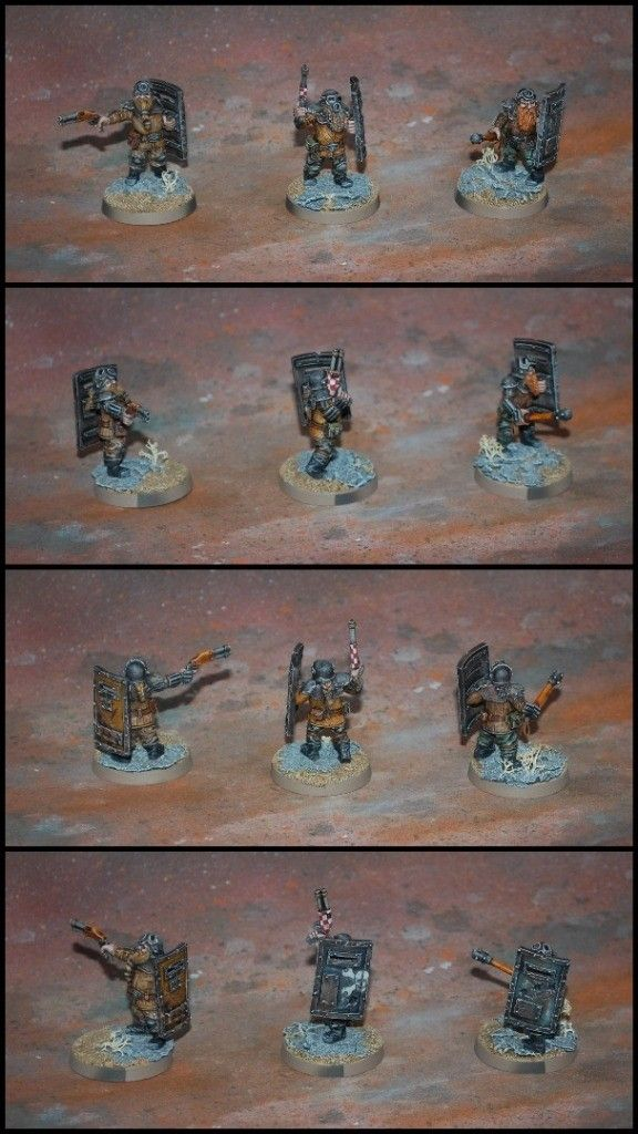 Dwarf Afterglow #miniatures #wargaming #wellofeternity #wargames #afterglow #postapo