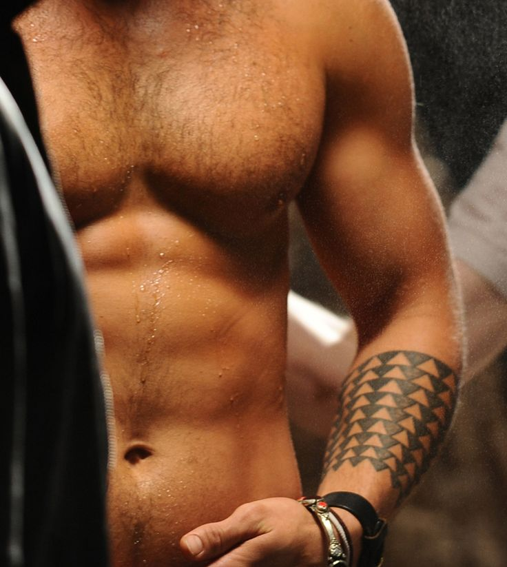 Jason Mamoa They worked him getting this tattoo into a plot line while he was playing Ronan on Stargate Atlantis!!