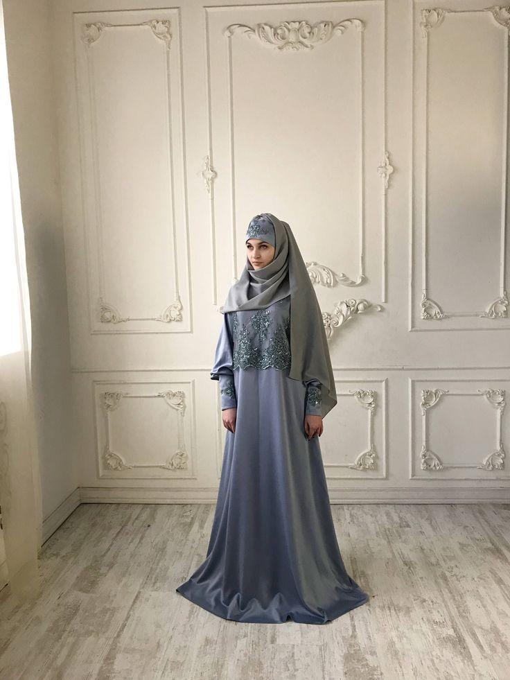 Elegant silk Maxi #Dress, Wedding #Abaya, Oversize dress, #muslim #bridal clothing, lace dress, Plus size dress, engagement muslim clothing, #hijab #jilbab