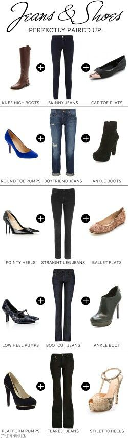 Ideas on what shoes to wear