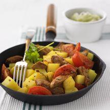 Kartoffelpfanne Kreta