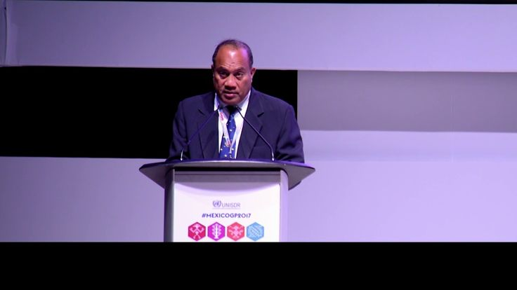 Kiribati: Official statement at the Global platform for Disaster Risk Re...