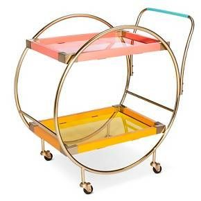Perfect for all your summer cocktail concoctions Oh Joy!® Circular Bar Cart : Target