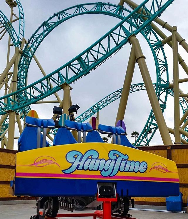 Lead Car Of Hangtime In Front Of The Ride We Think This New