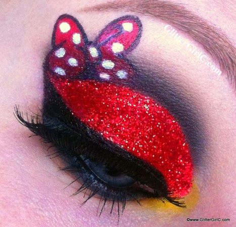 Inspired in Minnie Mouse Make Up