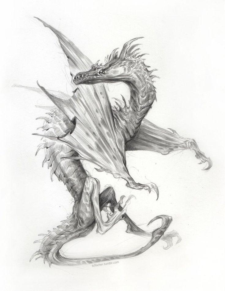 он дракон рисунки чашу