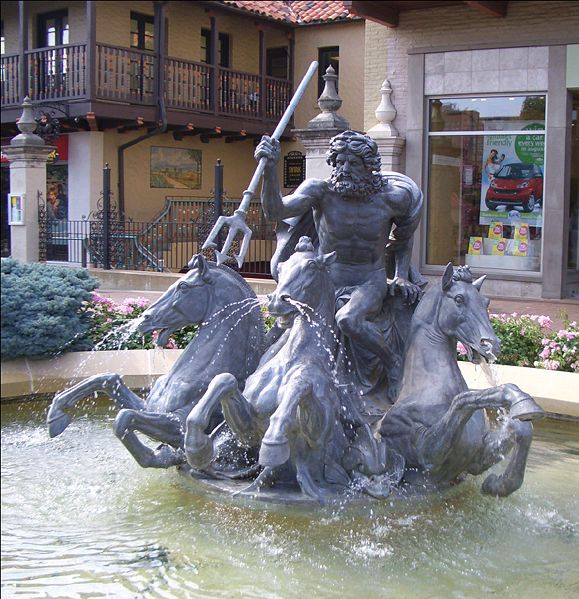 Neptune Fountain, Kansas City, Missouri