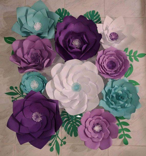 Giant Paper Flowers/ paper decor/ birthday/ wedding/ bridal shower/ baby shower/ party/ cake smash/ photoshoot/ photo prop