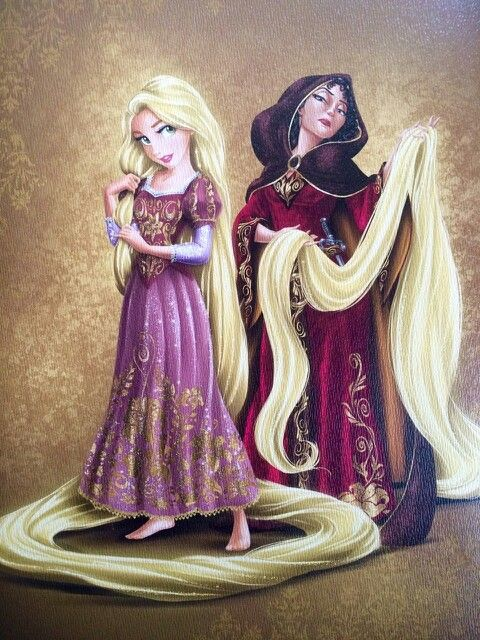 Rapunzel and Mother Gothel Limited Edition Doll