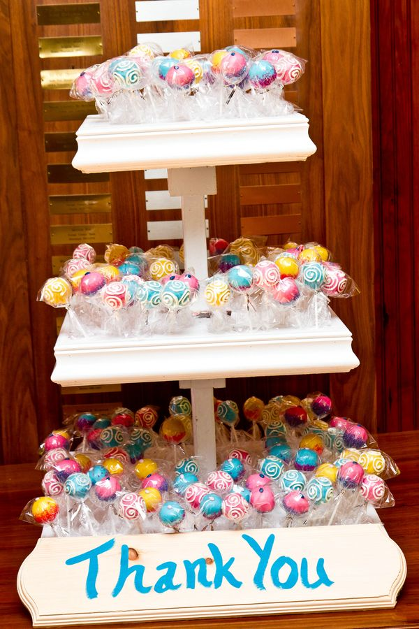 Cake Pop Wedding Favors Low Key Leesburg