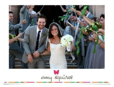 Lovely} Ribbon Wedding Wands
