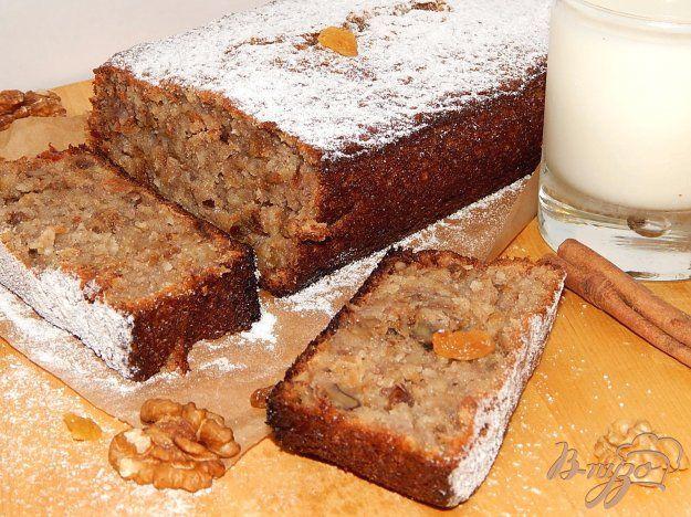 Банановый хлеб (Banana bread) - пошаговый рецепт с фото