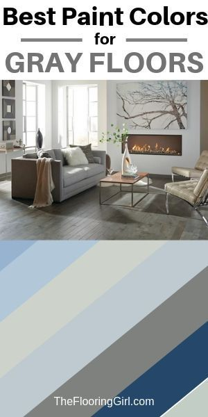 Which Paint Colors Go Best With Gray Floors Grey