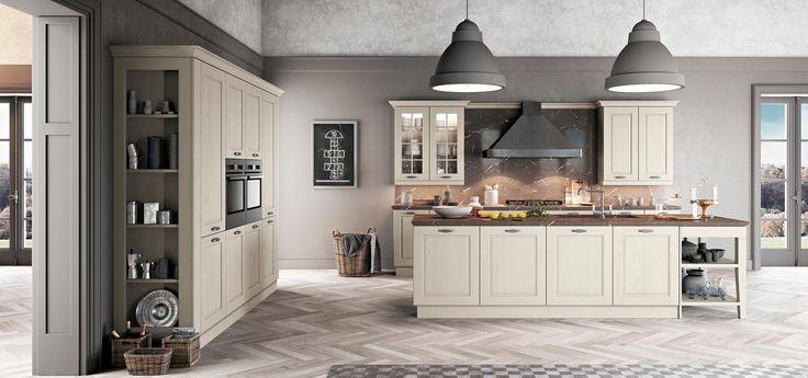 Con la cucina classica Asolo è un ritorno al passato, con Asolo nella propria casa significa aprirsi ad una realtà intramontabile, fatta di calore famigliare e convivialità.