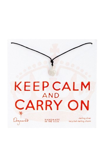 Keep Calm and Carry On - love this!