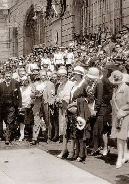 Cumhurbaşkanı Gazi Mustafa Kemal'in, Haydarpaşa Garı'nda karşılanışı (6 Ağustos 1929)