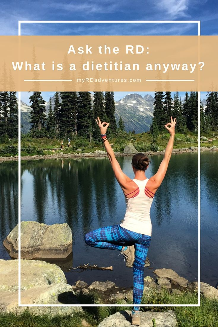 What Exactly is a Dietitian?