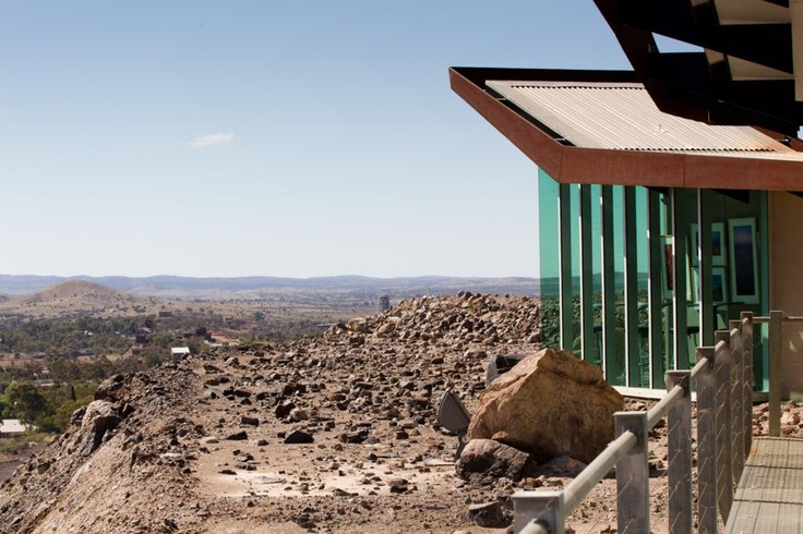 Line of Lode Miner's Memorial and Visitors Centre | Louis Laybourne Smith School of Architecture and Design at the University of South Australia_Broken Hill, Australia