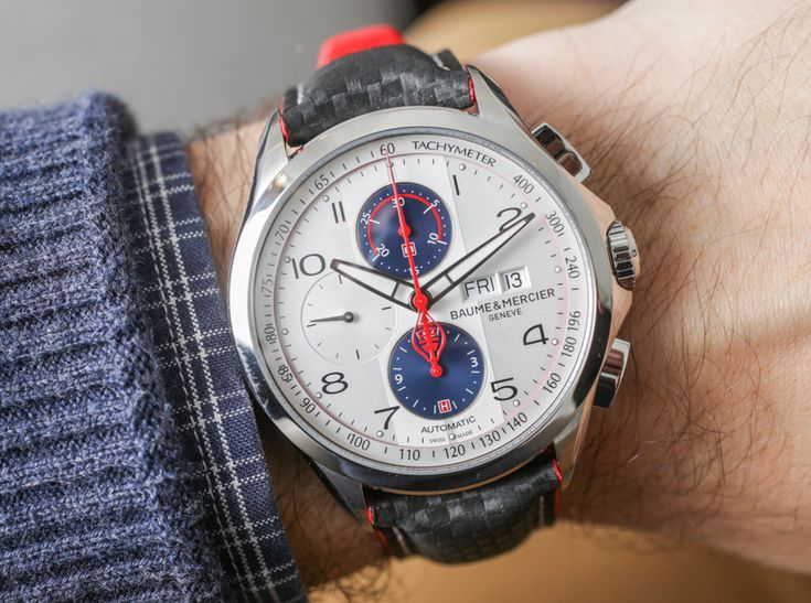 Baume & Mercier Clifton Club Shelby Cobra Daytona Coupe Watches For 2017 Hands-On Hands-On