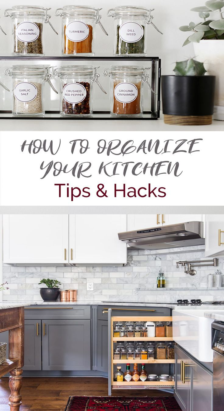 How To Organize Your Kitchen Efficiently Apartment Organization