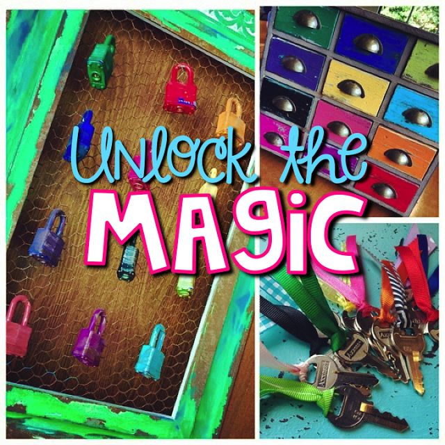If you read my first Unlock the Magic post, here is a little update and a freebie! Plus you get a little peek at my first Unlock the magic ceremony from this past Friday.  Many of you may have already